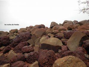 les roches de fotoba