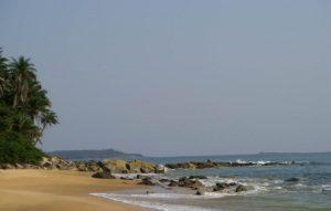 plage de l'île de Room